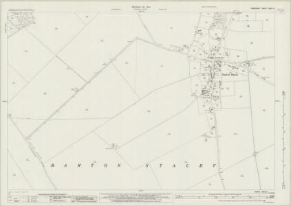 Hampshire and Isle of Wight XXXII.3 (includes: Barton Stacey) - 25 Inch Map