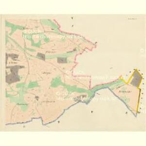 Kozlau (Kozlow) - c3453-1-004 - Kaiserpflichtexemplar der Landkarten des stabilen Katasters