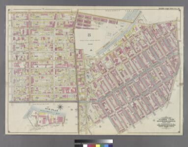Part of Wards 7 & 19. Land Map Sections, No. 7 & 8, Volume 1, Brooklyn Borough, New York City.