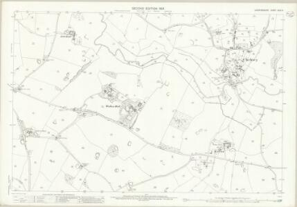 Staffordshire XXIX.16 (includes: Chebsey; Eccleshall) - 25 Inch Map