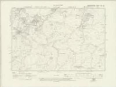 Caernarvonshire XXIX.SE - OS Six-Inch Map