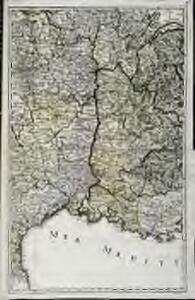 Karte von Frankreich in XVI Blättern, No. 11 und [No. 15]