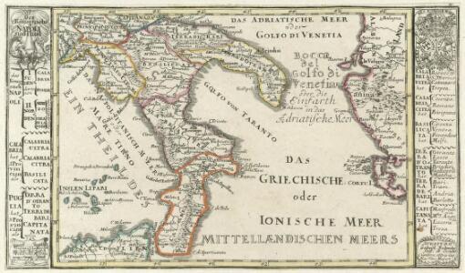 Des Königreichs Napoli Süd-Theil