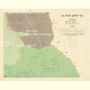 Kniezdub - m1209-1-007 - Kaiserpflichtexemplar der Landkarten des stabilen Katasters