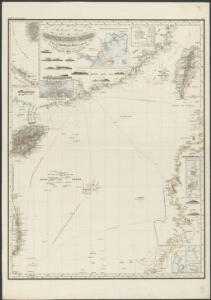 Reduzirte Karte vom Chinesischen Meere, 2-tes Blatt den Nördlichen Theil enthaltend