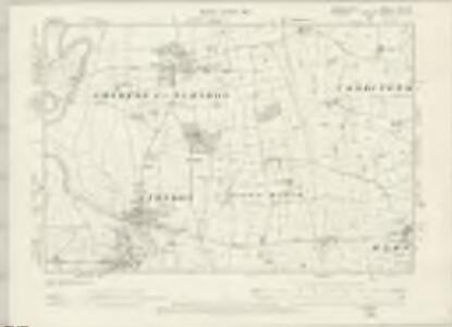 Denbighshire XXII.SE - OS Six-Inch Map