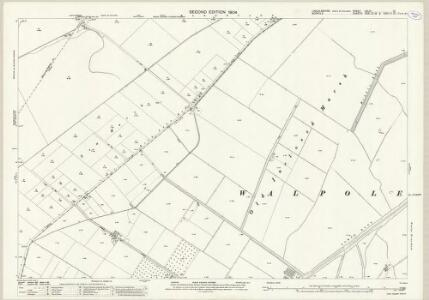 Lincolnshire CXLIV.12 (includes: Central Wingland; Walpole St Andrew; Walpole St Peter) - 25 Inch Map