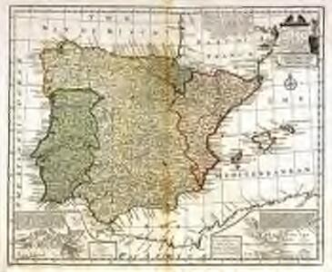 A new and accurate map of Spain and Portugal