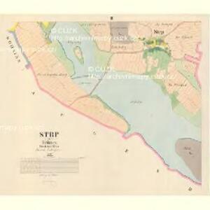 Strp - c7425-1-002 - Kaiserpflichtexemplar der Landkarten des stabilen Katasters