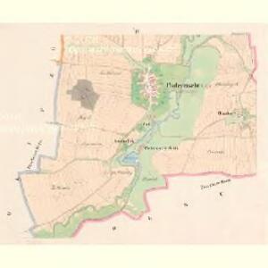 Poderzischt - c5880-1-004 - Kaiserpflichtexemplar der Landkarten des stabilen Katasters