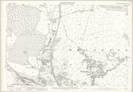 Derbyshire XVIII.10 (includes: Chesterfield; Unstone) - 25 Inch Map