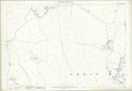 Essex (1st Ed/Rev 1862-96) XXXIII.15 (includes: Great Waltham) - 25 Inch Map