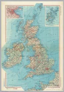 Great Britain and Ireland.  Pergamon World Atlas.