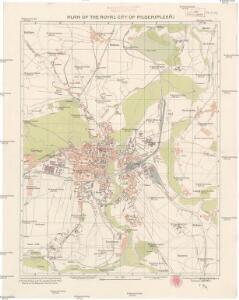 Plan of the royal city of Pilsen