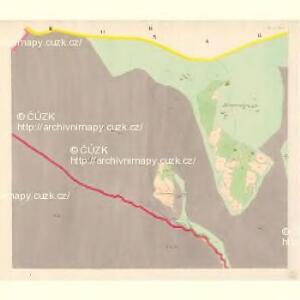 Lomna (Lomno) - m0508-1-002 - Kaiserpflichtexemplar der Landkarten des stabilen Katasters