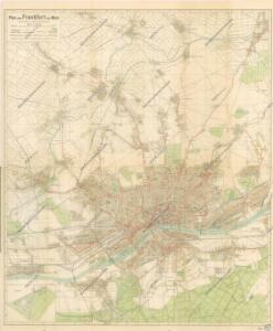 Plan von Frankfurt am Main