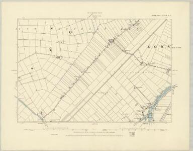 Norfolk LXVIII.NW - OS Six-Inch Map