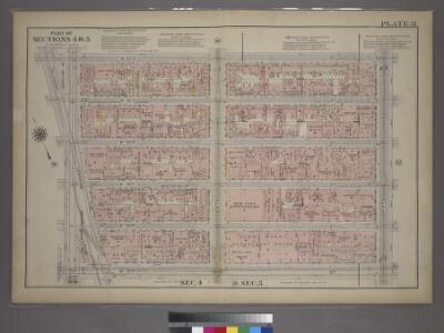 Plate 31, Part of Sections 4&5: [Bounded by W. 47th Street, Fifth Avenue, W. 42nd Street and Seventh Avenue.]