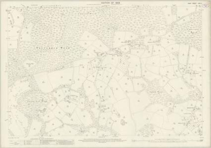 Kent LXXI.9 (includes: Benenden) - 25 Inch Map