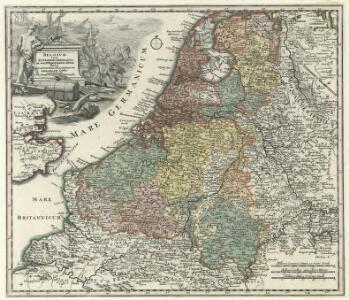 Belgivm sive Inferior Germania