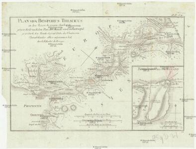 Plan vom Bosporus Thracicus