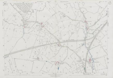 Wiltshire XLIV.7 (includes: Dilton Marsh; North Bradley; Westbury) - 25 Inch Map