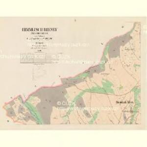 Himmlisch Ribney (Nebeska Ribna) - c4974-1-002 - Kaiserpflichtexemplar der Landkarten des stabilen Katasters