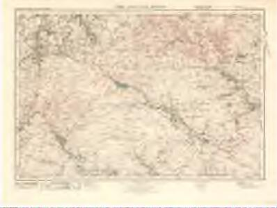 The Cheviot Hills (86) - OS One-Inch map