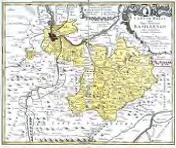 Canton Basel sive pagus Helvetiae Basileensis cum confinibus
