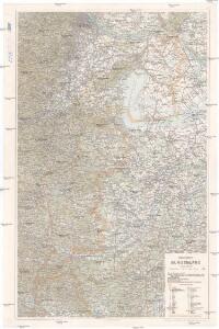 Generalkarte vom Burgenland
