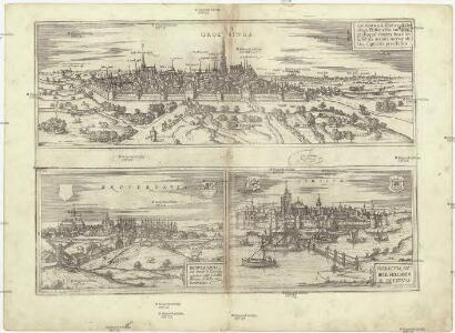 Groeninga, siue vt alii. Gruninga, Frisiae vrbs inclyta, probeque contra hostiles insultus munita, metropolitica dignitate percelebris