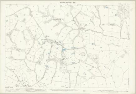 Sussex XXX.12 (includes: Bodiam; Salehurst) - 25 Inch Map