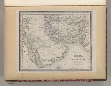Persia and Arabia.