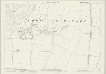 Cambridgeshire LII.6 (includes: Cockayne Hatley; Potton; Tadlow) - 25 Inch Map