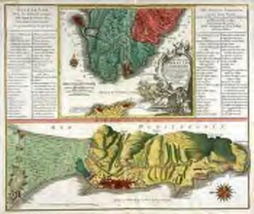 Castellum Gibraltar in Andalusia situm