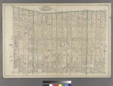 Plate 8: Bounded by Flushing Wallabout Avenue, Nostrand Avenue, Lafayette Avenue and Clermont Avenue.