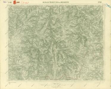 III. vojenské mapování 3750