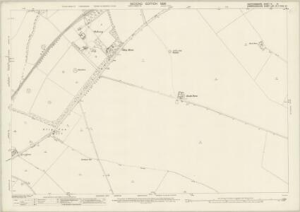 Hertfordshire IV.14 (includes: Ashwell; Guilden Morden; Kelshall; Sandon; Steeple Morden; Wallington) - 25 Inch Map