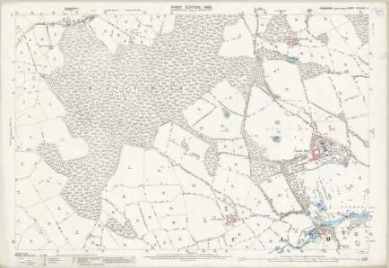 Yorkshire CCLXXIII.4 (includes: Cawthorne; Clayton West; Denby; High Hoyland) - 25 Inch Map