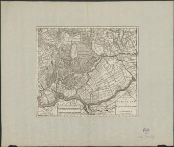 Nieuwe kaart van Schieland en Krimper Waard.
