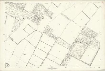 Suffolk XXI.16 (includes: Icklingham) - 25 Inch Map