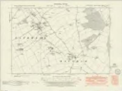 Lincolnshire LVI.SW - OS Six-Inch Map