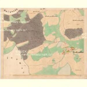 Zahradka - c9069-1-004 - Kaiserpflichtexemplar der Landkarten des stabilen Katasters