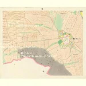 Hodowitz - c1922-1-003 - Kaiserpflichtexemplar der Landkarten des stabilen Katasters