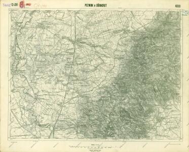 III. vojenské mapování 4658