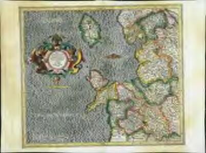 Westmorlandia, Lancastria, Cestria, Caernarvan, Denbigh, Flint, Merionidh, Montgomery, Salopia cum insulis Mania et Anglesey