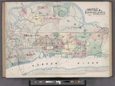 Index Map / surveyed and published by Chas. B. Brush. Vol. 8.