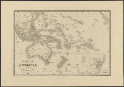 Nouvelle carte de l'Océanie