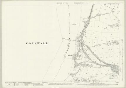 Devon CXVII.14 (includes: Devonport; Plymouth; Saltash) - 25 Inch Map