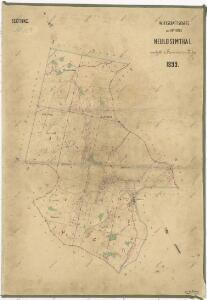 Hospodářská mapa revíru Jedlina I. sekce